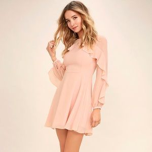Lulus size small light pink dress